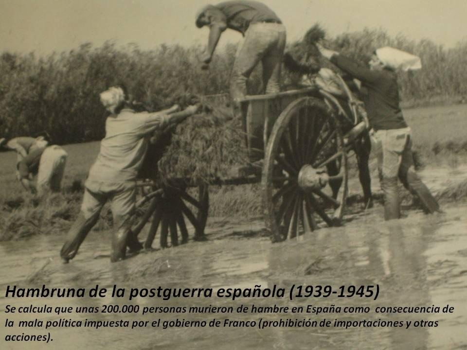 Hambruna española
